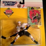 Chris Chelios Chicago Blackhawks 1995 nhl starting lineup toy