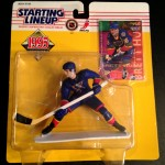 1995 Brett hull st. louis blues nhl starting lineup toy figure
