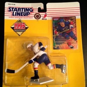 Brendan Shanahan St.Louis Blues 1995 starting lineup toy figure