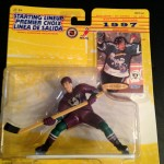 Teemu Selanne Anaheim Mighty Ducks 1997 nhl starting lineup