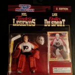 Bernie Parent Philadelphia Flyers NHL Timeless Legends starting lineup toy