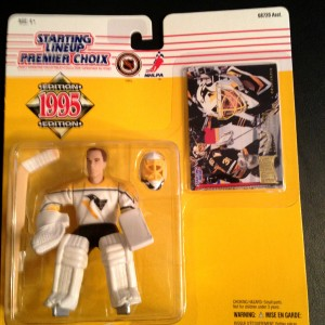 Tom Barrasso Pittsburgh Penguins NHL Starting Lineup Toy Figure