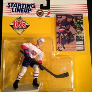 Pierre Turgeon montreal canadians nhl starting lineup toy figure