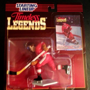 1995 timeless legends gordie howe detroit redwings starting lineup toy