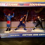 Wayne Gretzky NHL Freeze Frame Starting lineup Rangers, Oilers, Kings