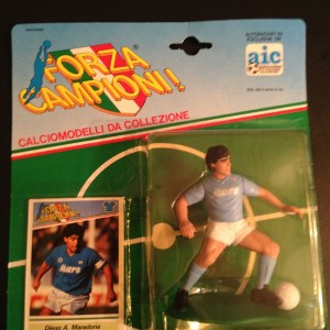 Diego A. Maradona Napoli 1989 Soccer Starting Lineup Toy Figure