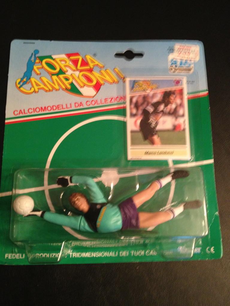 1989 Marco Landucci Fiorentina Starting Lineup Toy Figure Rare Vntg