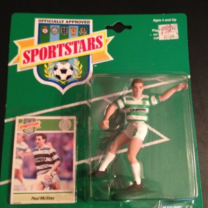 Paul McStay Celtic 1989 Starting Lineup Toy Figure