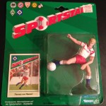 Thomas von Hessen Hamburger SV Soccer Stars Starting Lineup Figure 1989