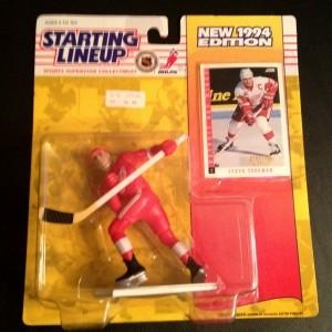 steve yzerman detroit redwings 1994 nhl starting lineup toy figure
