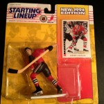 Jeremy Roenick Chicago Blackhawks 1994 nhl starting lineup