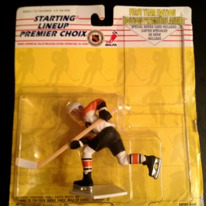 1993 philadelphia flyers eric lindros starting lineup toy figure