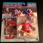 2000 Artus Irbe Carolina Hurricanes nhl starting lineup toy figure