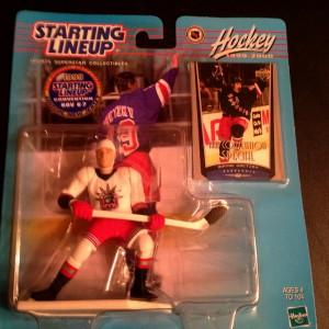 Wayne Gretzky New york rangers 1999 starting lineup toy figure