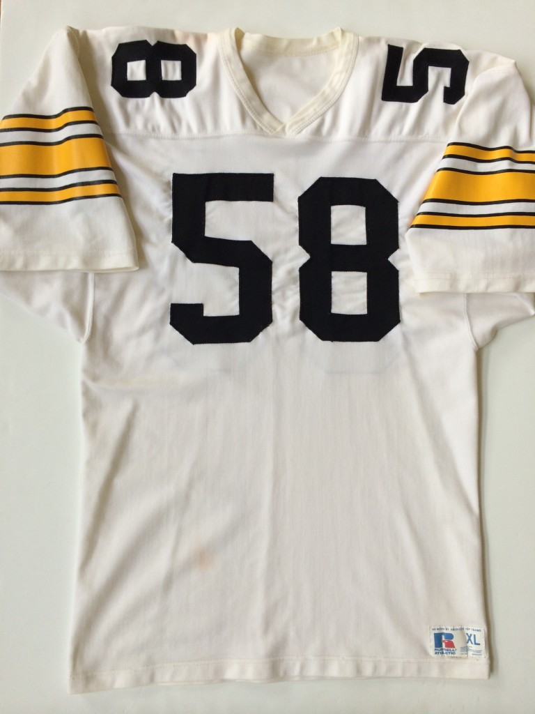 f3c1f5c96b7 Authentic Jack Lambert Pittsburgh Steelers Russell NFL Jersey Size ...