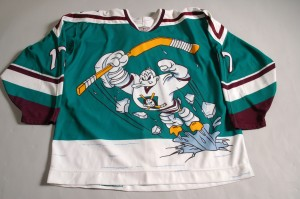 anaheim mighty ducks wild wing vintage jersey