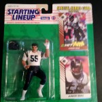 1993 San Diego Chargers Junior Seau starting lineup toy figure