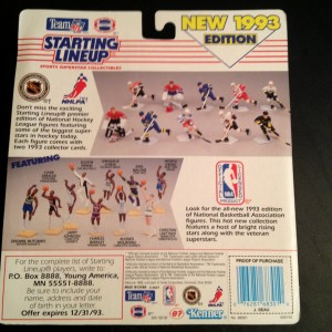 1993 kenner hasbro starting lineup toy package