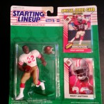 1993 Ricky Watters San Fransisco 49ers Starting Lineup Toy Figure