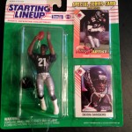 1993 Deion Sanders Atlanta Falcons Starting LIneup Toy