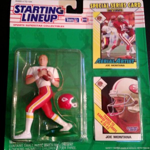 1993 Joe Montana Starting Lineup
