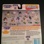 1994 NFL Starting Lineup Back of package