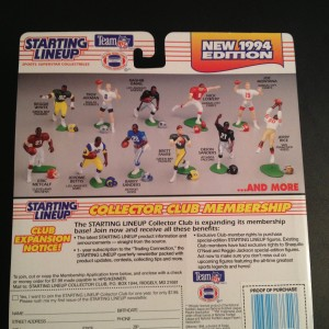 1994 kenner hasbro starting lineup toy package