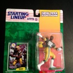 1995 Green Bay Packers Reggie White starting lineup toy figure