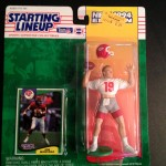 1994 joe montana kansas city cheifs starting lineup toy