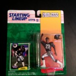 1994 Deion Sanders atlanta falcons starting lineup toy figure