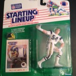 1988 Billy Ray Smith Jr San Diego Chargers Starting linuep toy figure