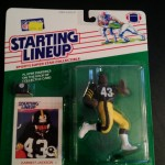 1988 Earnest Jackson pittsburgh steelers starting lineup toy figure