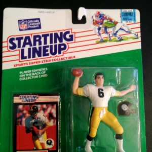 1989 Bubby Brister Pittsburgh steelers starting lineup toy figure