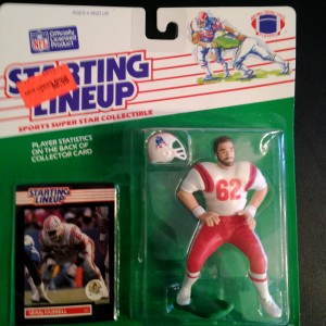 1989 New england Patriots sean farrell starting lineup toy figure