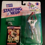 1989 Keith Jackson philadelphia eagles starting lineup toy figure