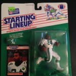 1989 Freeman McNeil New York Jets Starting linuep toy figure