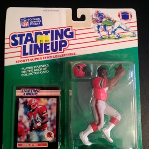 1989 john settle atlanta falcons starting lineup toy figure