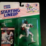 1989 Keith Byars Philadelphia eagles starting lineup toy figure