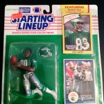 1990 chris carter philadelphia eagles starting lineup toy figure