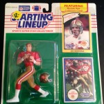 1990 Joe montana san fransisco 49ers starting lineup toy figure