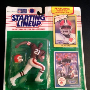 1990 eric metcalf cleveland browns starting lineup toy