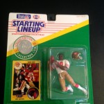 1991 jerry rice san fransisco 49ers starting lineup toy