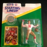 joe montana 1991 san fransisco 49ers starting lineup toy