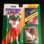 1992 derrick thomas kansas city cheifs starting lineup toy