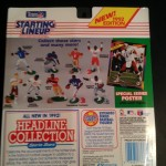 1992 kenner hasbro nfl starting lineup back of package