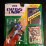 1992 barry sanders detroit lions starting lineup toy figure