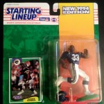 1994 ronnie harmon san diego chargers starting lineup toy figure