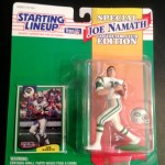 1994 joe namath new york jets starting lineup toy