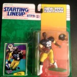 1994 barry foster pittsburgh steelers starting lineup toy