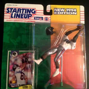 andre rison atlanta falcons 1994 starting lineup toy